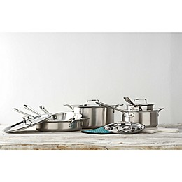 All-Clad d5® Brushed Stainless Steel Cookware Collection