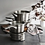 Part of the Calphalon® Premier™ Space Saving Stainless Steel Cookware Collection