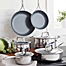 Part of the Zwilling J.A. Henckels  Energy Ceramic-Coated Stainless Steel Cookware Collection