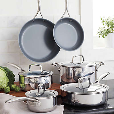 Zwilling J.A. Henckels  Energy Ceramic-Coated Stainless Steel Cookware Collection