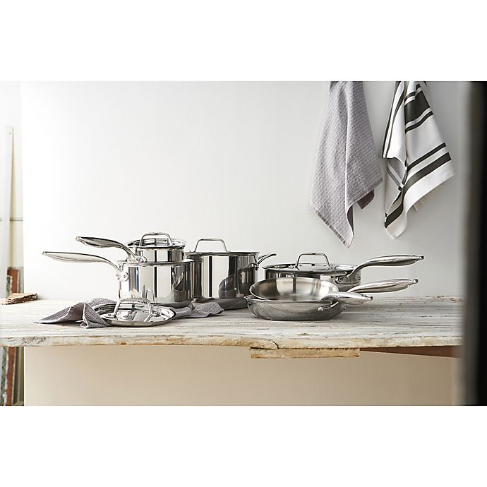 Alternate image 1 for Breville® Thermal Pro™ Clad Stainless Cookware Collection