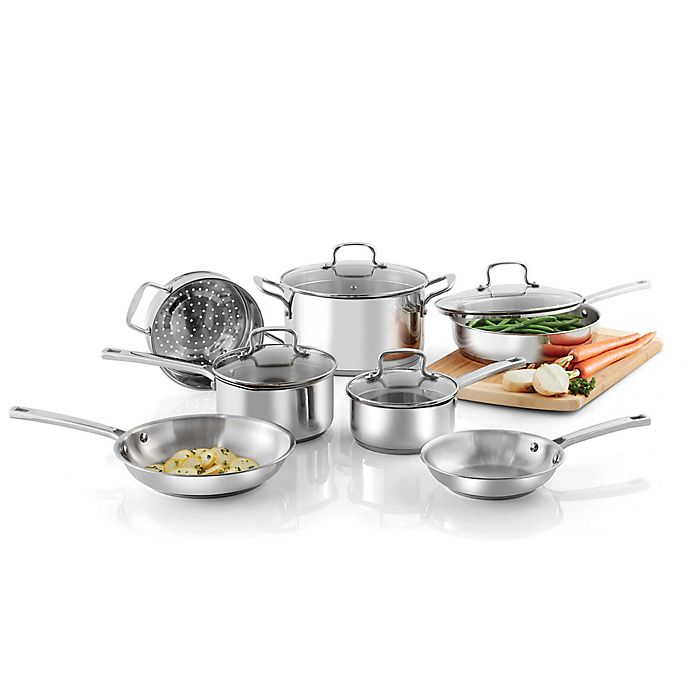 Alternate image 1 for SALT® Stainless Steel Cookware Collection
