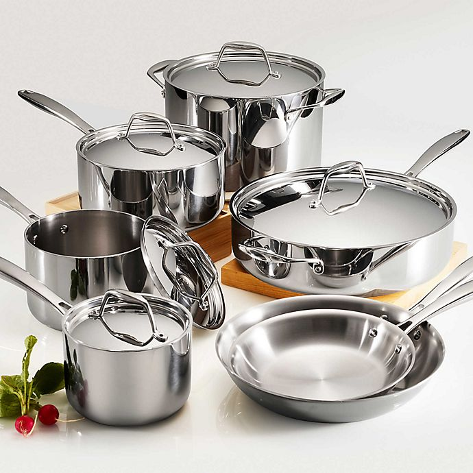 Tramontina Tri Ply Clad Cookware Collection Bed Bath Beyond