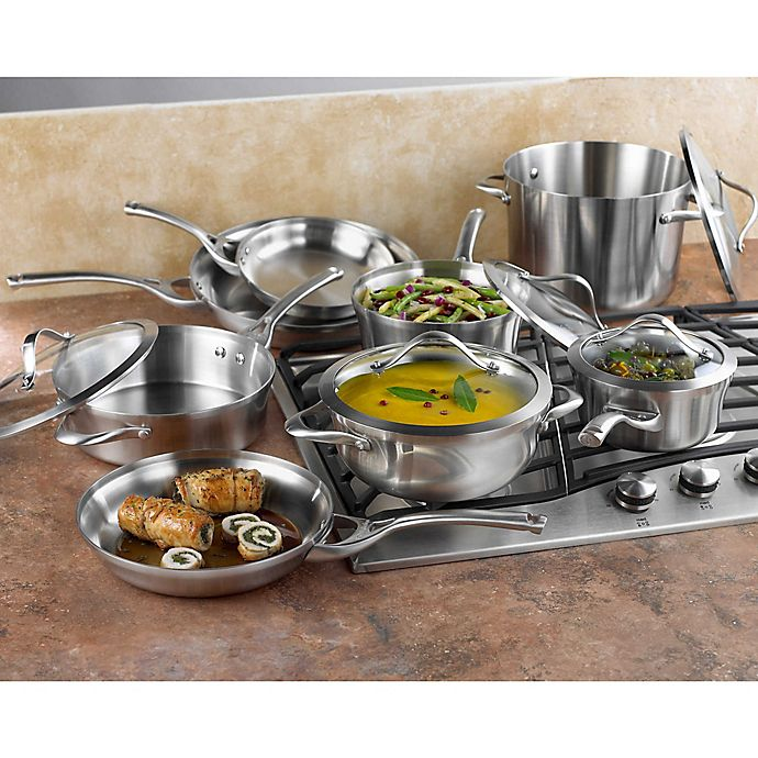 Alternate image 1 for Calphalon® Contemporary Stainless Steel Cookware Collection