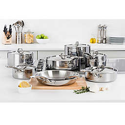 Viking® 3-Ply Stainless Steel Cookware Collection