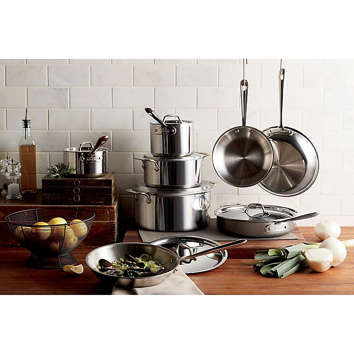 Alternate image 1 for All-Clad Stainless Steel Cookware Collection