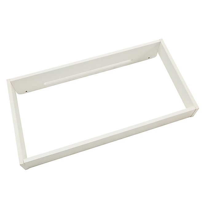 Alternate image 1 for BassettBaby® Premier Ryder Changing Topper in Cotton White