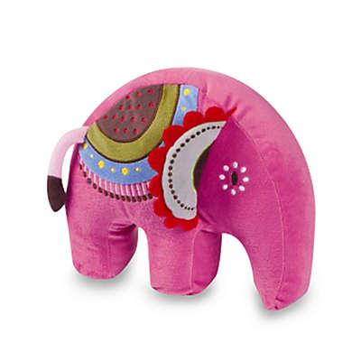 Kas Kids Abbey Elephant Throw Pillow