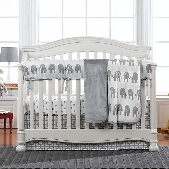 Alternate image 1 for Liz and Roo Elephant Crib Bedding Collection