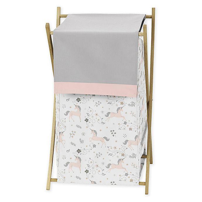 Alternate image 1 for Sweet Jojo Designs Unicorn Laundry Hamper