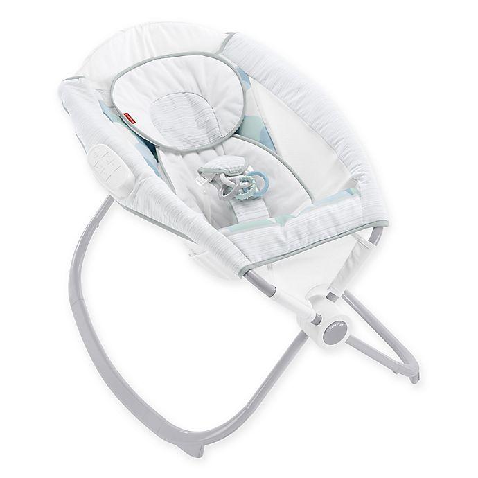 Fisher Price Deluxe Newborn Auto Rock N Play Sleeper In Ocean Dream Bed Bath Beyond