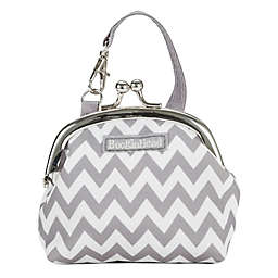 BooginHead® PaciPurse in Grey Chevron