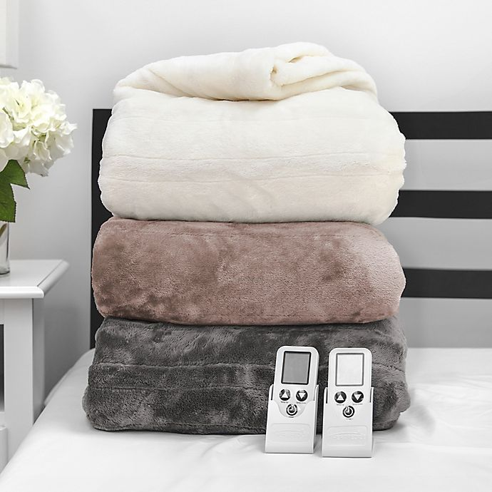 Alternate image 1 for Therapedic® Smart Warming Wireless Remote Blanket
