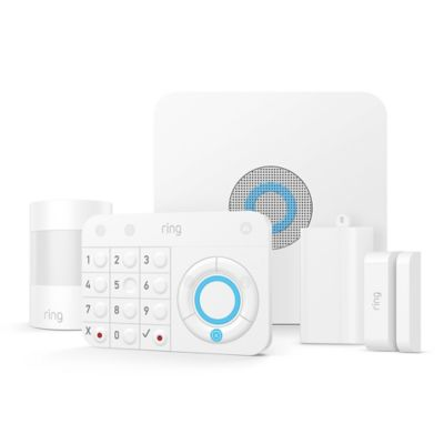 Ring 5-Piece Alarm Home Security Kit in White