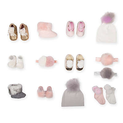 Girls Faux Fur Shoes and Accessories Collection