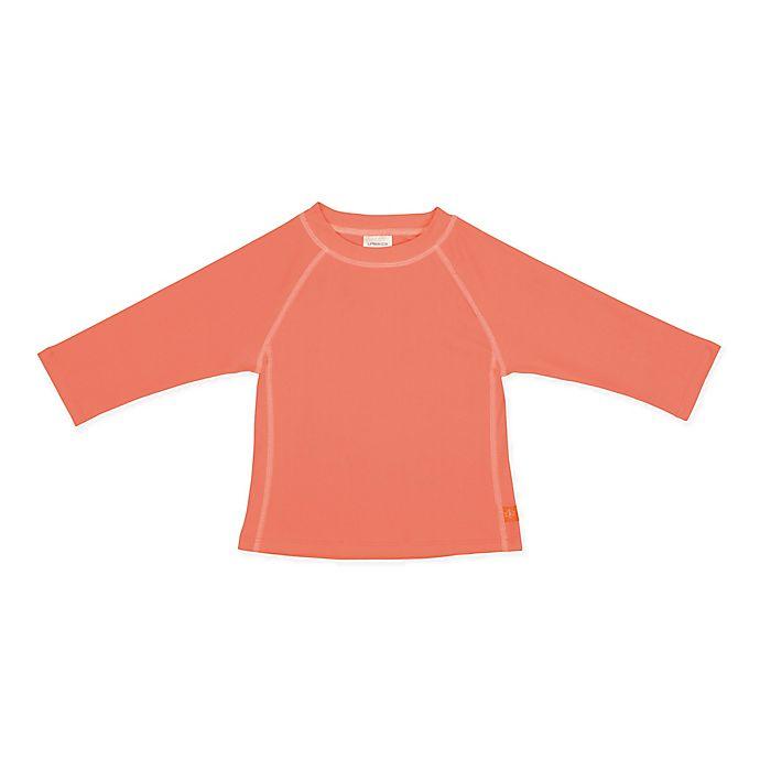 Alternate image 1 for Lassig Size 24M Long Sleeve Rashguard in Peach