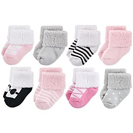 Luvable Friends 8-Pack Ballet Socks