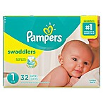 Pampers® Swaddlers™ 32-Count Size 1 Jumbo Pack Diapers