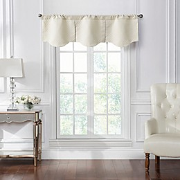 Waterford® Kasey Window Valance in Ivory