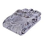 VelvetLoft® Damask Plush Throw Blanket in Natural