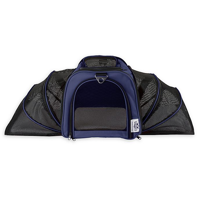 Alternate image 1 for PETMAKER Airline Pet Carrier in Navy