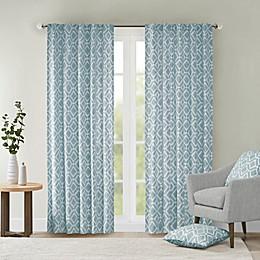 Delray Diamond Window Curtain Panel