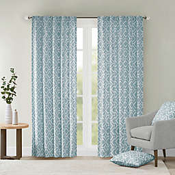 Delray Diamond Light Filtering Window Curtain Panel