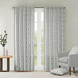 Delray Diamond 42-Inch x 84-Inch Window Curtain Panel in Grey