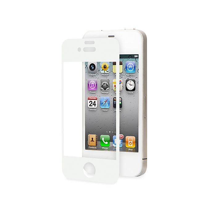 Alternate image 1 for Moshi® iVisor AG for iPhone® 4/4S in White