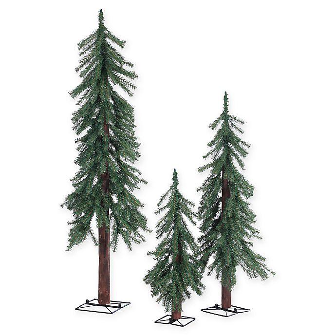 Alpine 3-Piece Christmas Tree Set | Bed Bath & Beyond