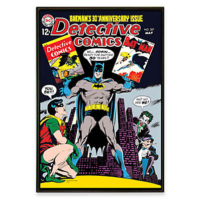 Batman DC Comic Book Wall Art
