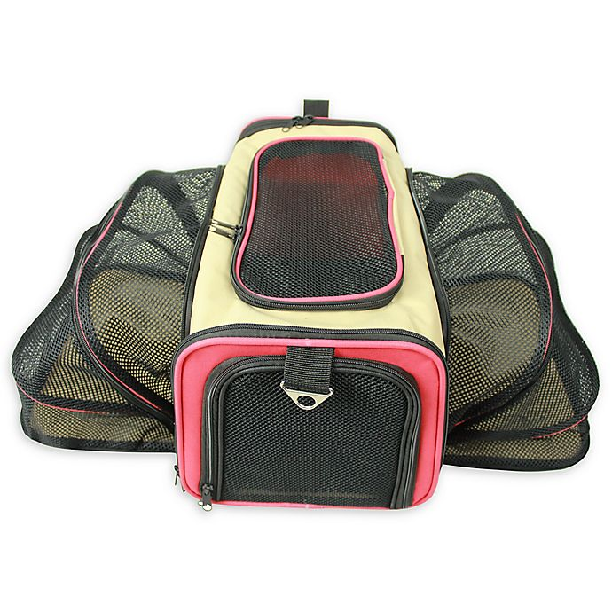 Alternate image 1 for Pet Life™ Roomeo Collapsible Airline Approved Pet Carrier