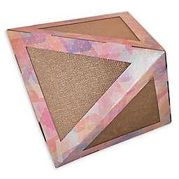 Pet Life™ Triangular Cat Scratcher Puzzle Toy