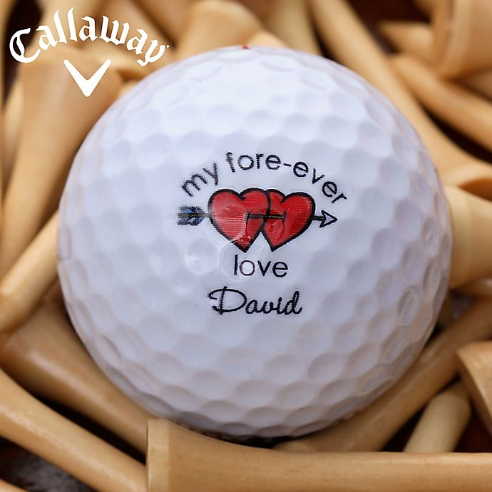 Alternate image 1 for Callaway® Loving Hearts Golf Balls (Set of 12)