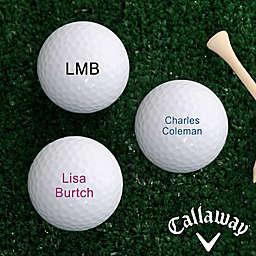 Callaway® You Name It Golf Balls (Set of 12)