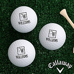 Callaway® Square Monogram Golf Balls (Set of 12)