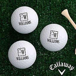 Callaway® Square Monogram Golf Balls (Set of 12)
