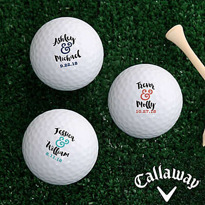 Callaway® Now & Forever Golf Balls (Set of 12)