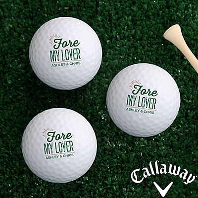 Callaway® Fore My Sweetheart Golf Balls (Set of 3)