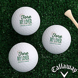 Callaway® Fore My Sweetheart Golf Balls (Set of 3)