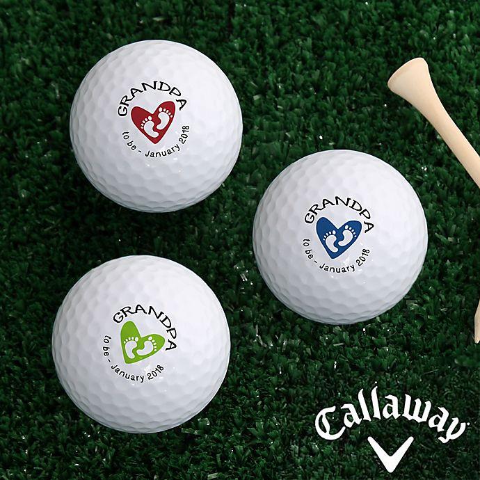 Alternate image 1 for Callaway® Grandpa Established Golf Balls (Set of 3)