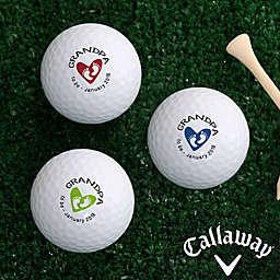 Callaway® Grandpa Established Golf Balls (Set of 3)
