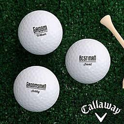 Callaway® I Do Crew Golf Balls (Set of 3)