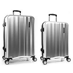 Calvin Klein Excalibur Hardside Spinner Checked Luggage