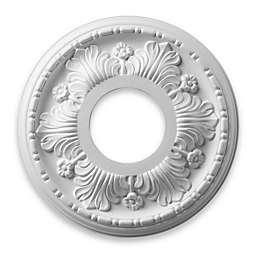 ELK Lighting Acanthus Medallion in White