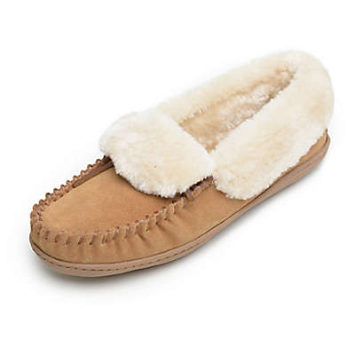 Minnetonka® Angela Women's Trapper Slippers in Cinnamon