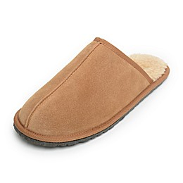 Minnetonka® Abe Men's Scuff Slippers in Cinnamon