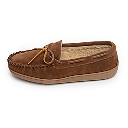 Minnetonka® Aaron Men's Trapper Slippers in Whiskey