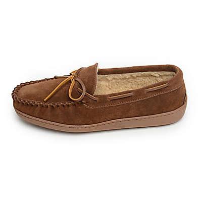 Minnetonka® Aaron Men's Trapper Slippers in Whiskey