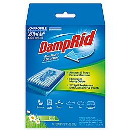 DampRid® Lo-Profile Refillable Moisture Absorber Kit